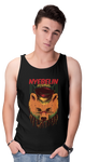 Nyebelin Black Graphic Unisex Tank Top | Tank Top | BFY Apparel | Streetwear & More