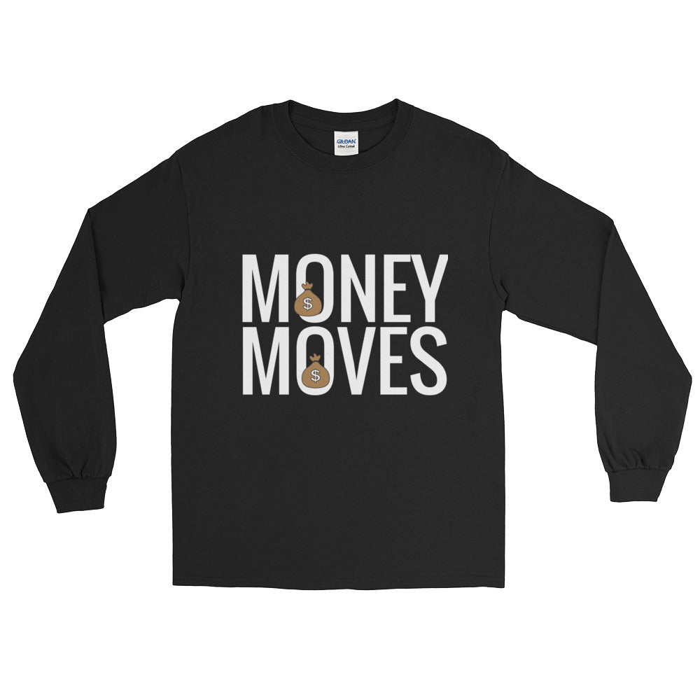 Money Moves Long Sleeve T-Shirts - BFY Apparel | Streetwear & More