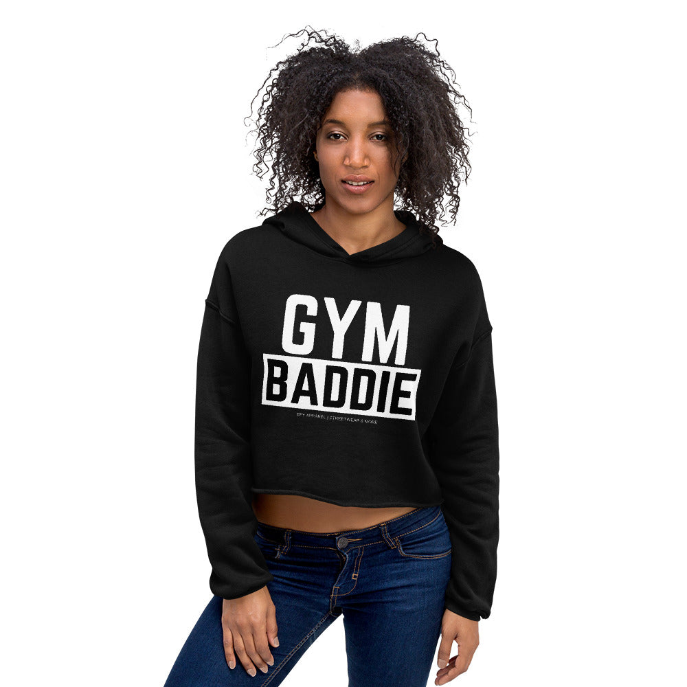 Gym Baddie Crop Hoodie |  | BFY Apparel | Streetwear & More