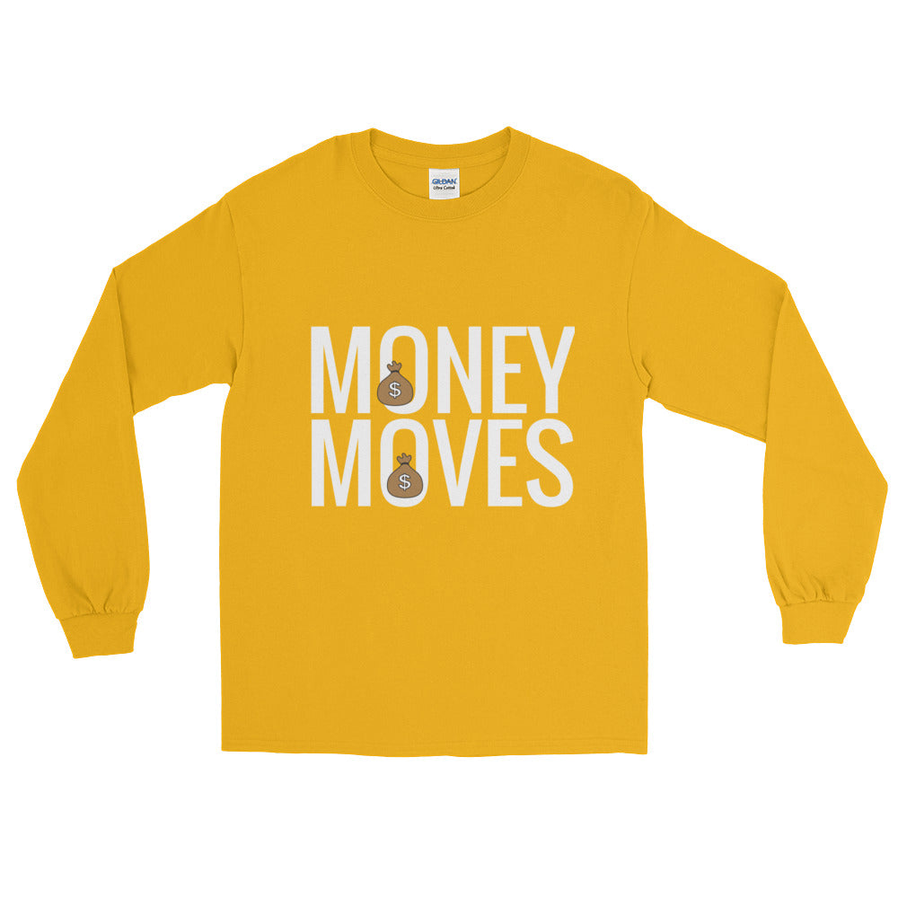 Money Moves Long Sleeve Shirts | Long Sleeve Shirts | BFY Apparel | Streetwear & More