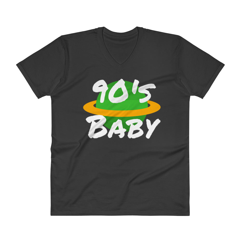 90's Planet Baby V-Neck T-Shirt - BFY Apparel | Streetwear & More
