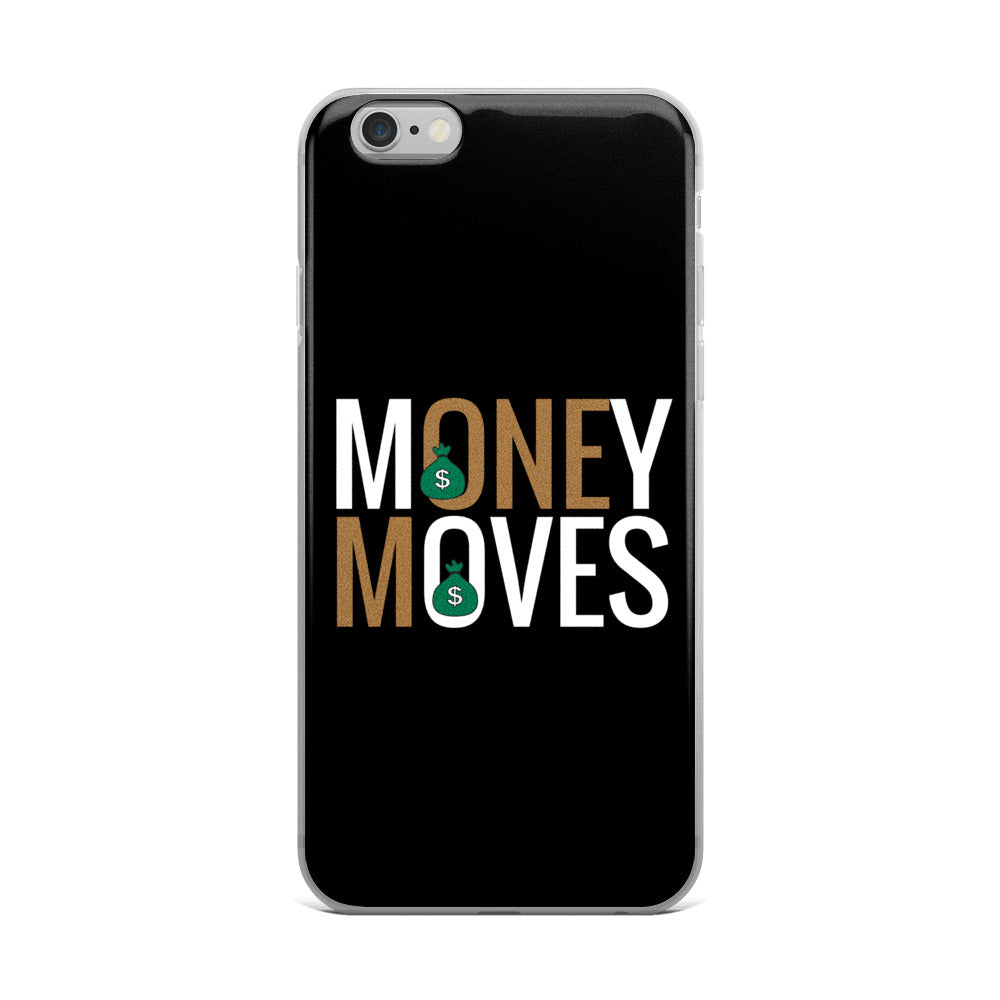 Gold Money Moves iPhone 5/5s/Se, 6/6s, 6/6s Plus Case |  | BFY Apparel | Streetwear & More