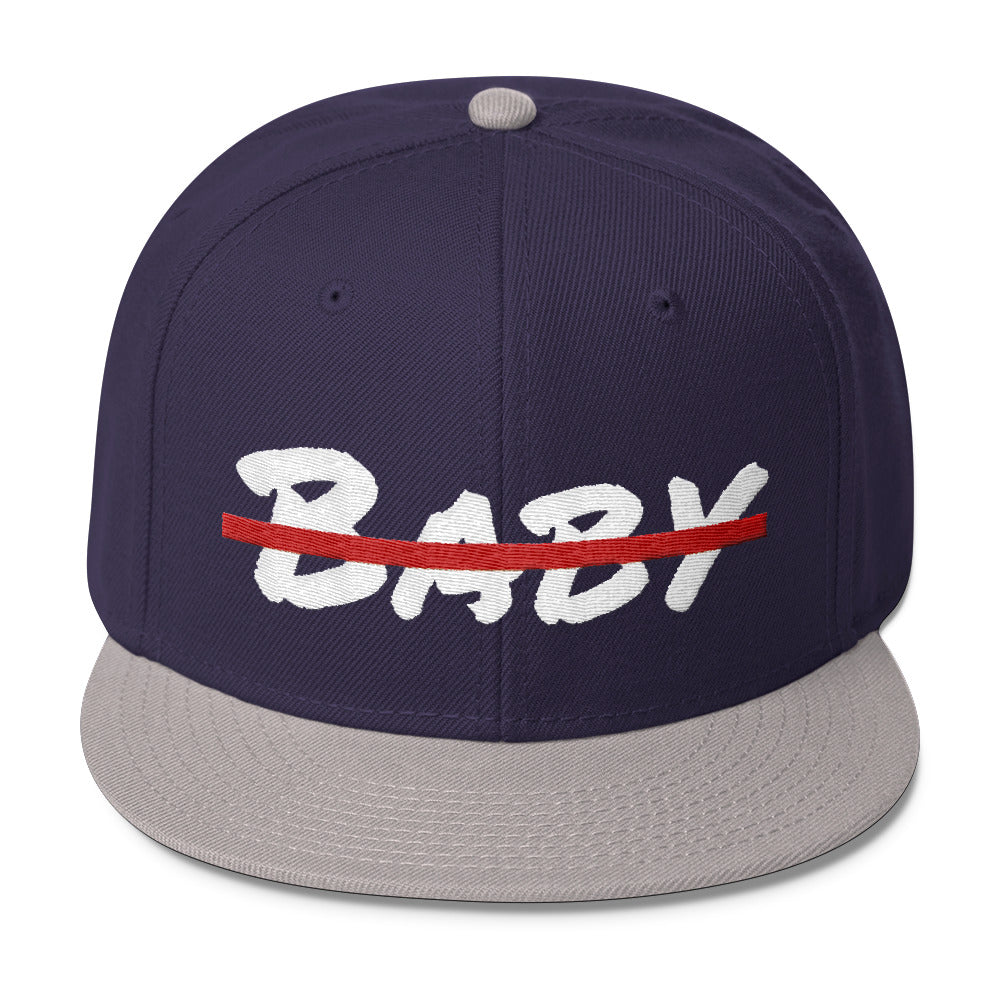 No Baby Wool Blend Snapback | Hats | BFY Apparel | Streetwear & More
