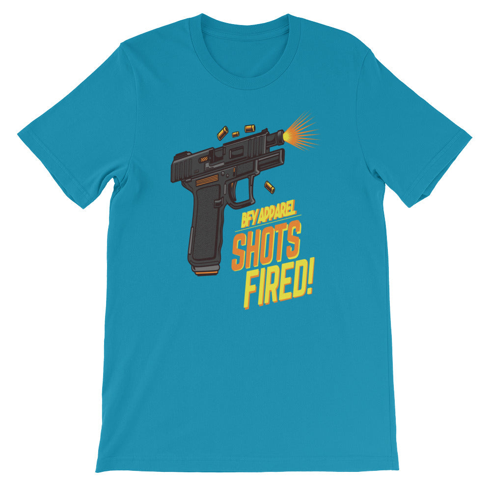 Shorts Fired Short-Sleeve Unisex T-Shirt | Shirts | BFY Apparel | Streetwear & More