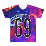 Area 69 Women's All-Over Printed T-Shirt | Tshirts | BFY Apparel | Streetwear & More