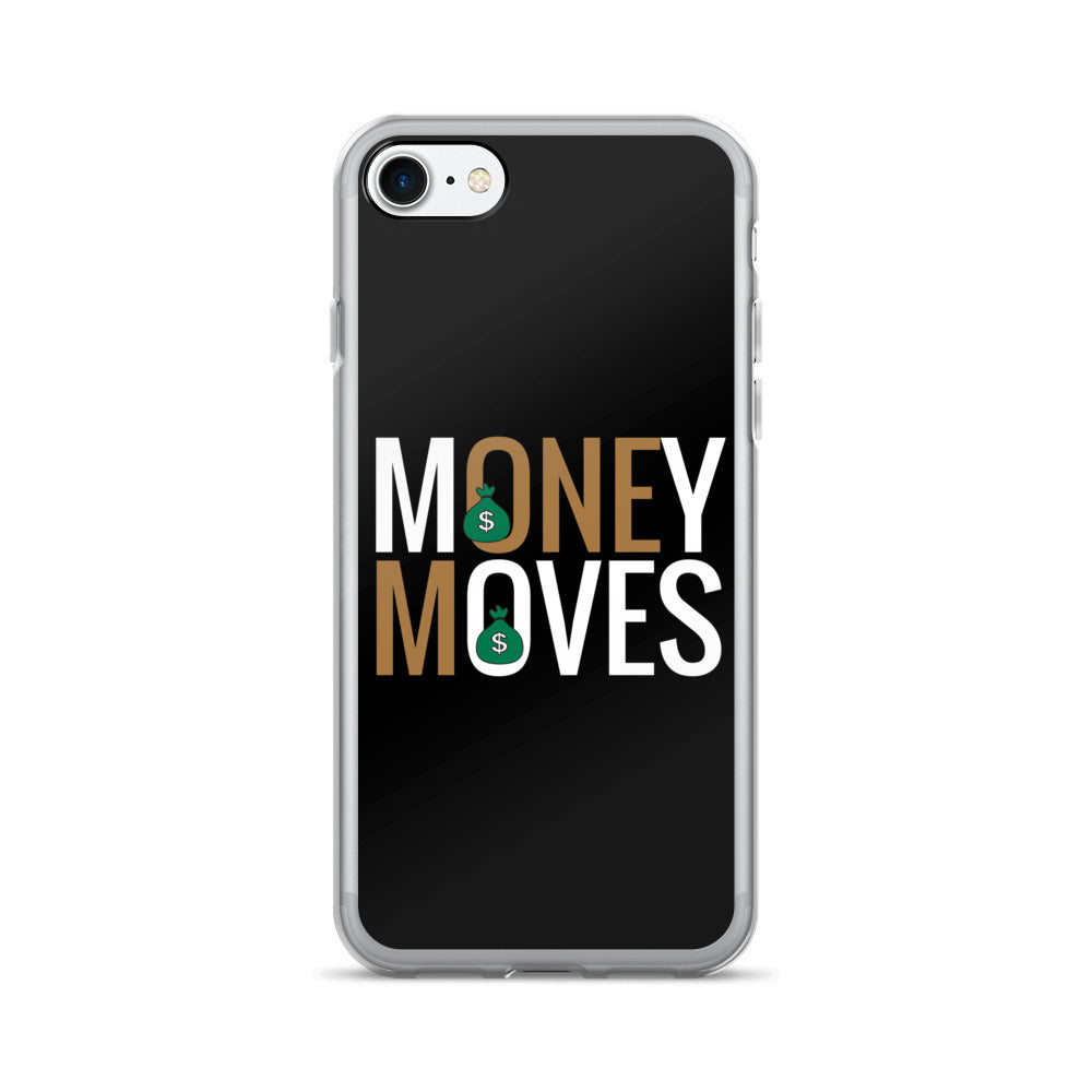Gold Money Moves iPhone 7/7 Plus Case - BFY Apparel | Streetwear & More