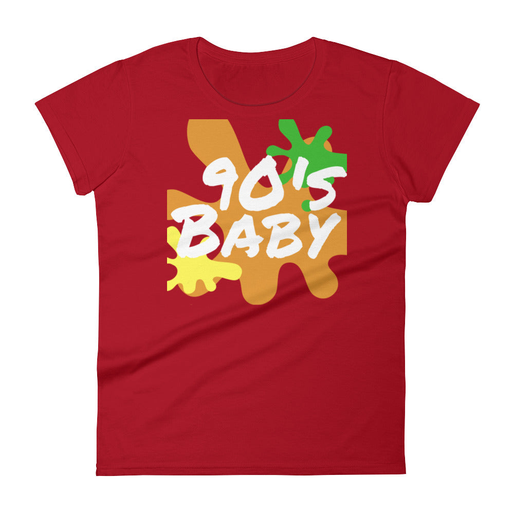 90s Baby Splash Women's Short Sleeve T-shirt | Shirts | BFY Apparel | Streetwear & More