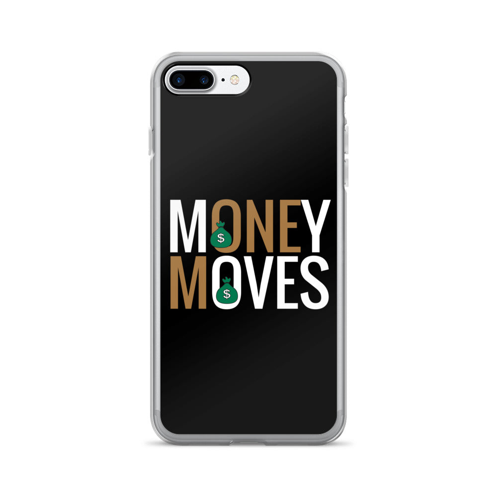 Gold Money Moves iPhone 7/7 Plus Case |  | BFY Apparel | Streetwear & More