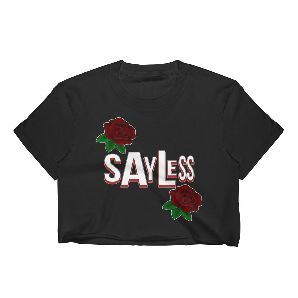 Sayless Women's Crop Top | Shirts | BFY Apparel | Streetwear & More