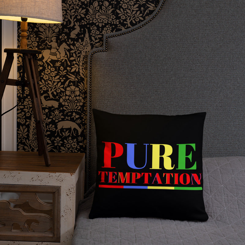 Pure Temptation Square Pillow