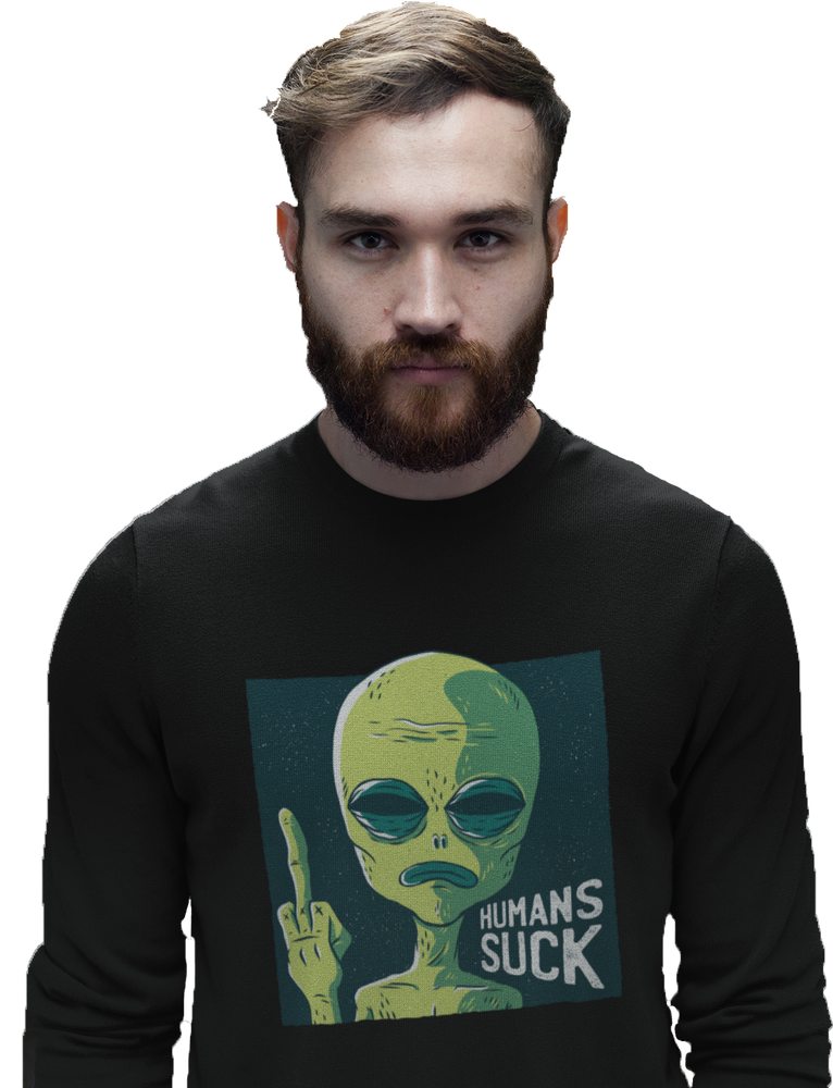 Humans Suck Men's Sweatshirt