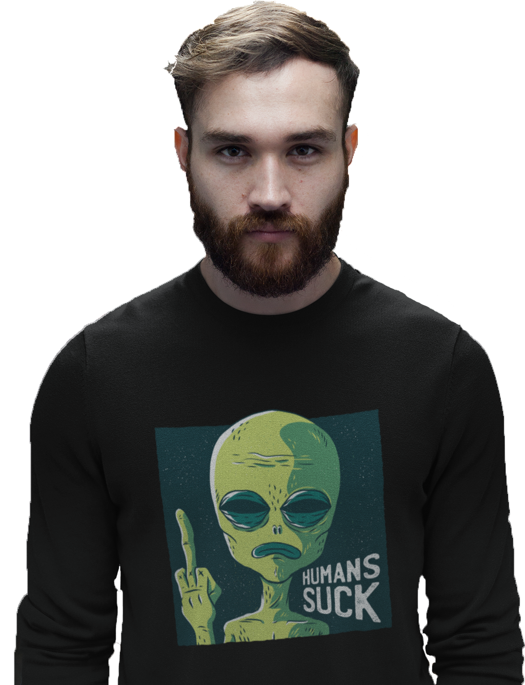 Humans Suck Men's Sweatshirt | Sweatshirt | BFY Apparel | Streetwear & More