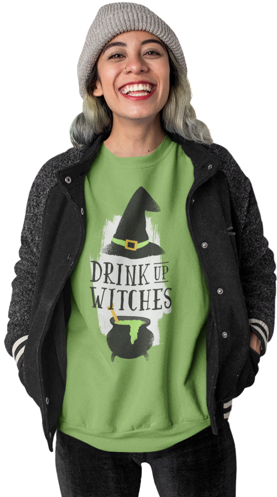 Drink Up Womens Short-Sleeve T-Shirt