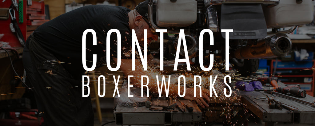 Contact Boxerworks Call Email