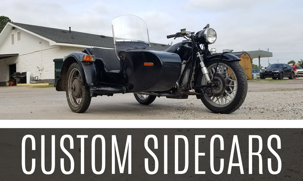 Custom Sidecars at Boxerworks