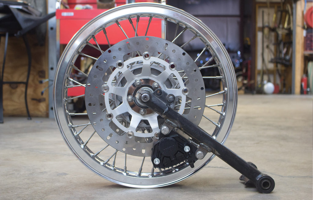 Earles Front End Conversion Dual Disc Custom Wheel Build Boxerworks