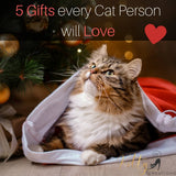 5 Gifts Every Cat Person Will Love for Christmas
