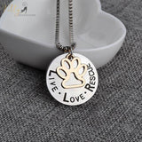 cat rescue necklace front kittysensations