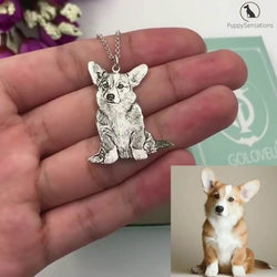 Personalized Dog Necklace with Engraving