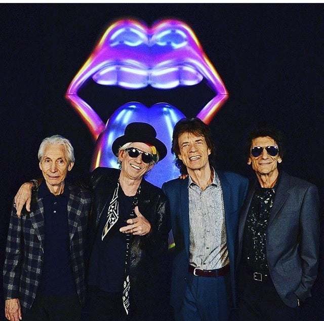Keith Richards Wears Rockins 'Super Skinny' Scarf At Exhibitionism