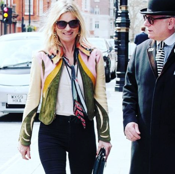 Kate Moss's Top Rockins Scarf Moments!