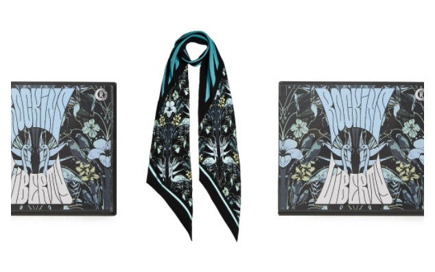 Rockins X Liberty Exclusive Tropicalia Printed Scarf