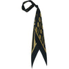 Rockins Super Skinny Scarf Black and Gold