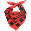 Locks Bandana Silk Red