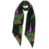 Magic Meadow Classic Skinny Scarf Black