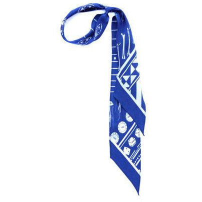 Rockins Super Skinny Scarf Blue