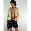 Shooting Star Unisex Boxers Silk Shorts Gold and Silver
