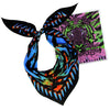 Acid Tiger Neckerchief Blue & Orange