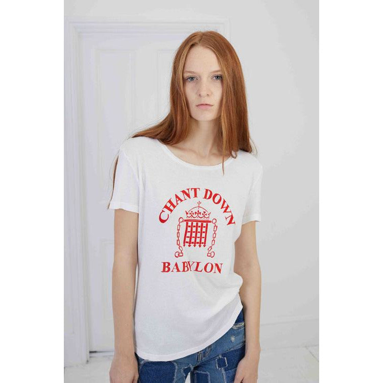 Printed T-Shirt Chant Down Babylon