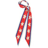 Americana Super Skinny Scarf Red