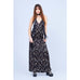 Shooting Star Long Slip Dress Gold and Silver