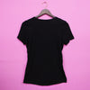 Epiphany Solid Black T-Shirt