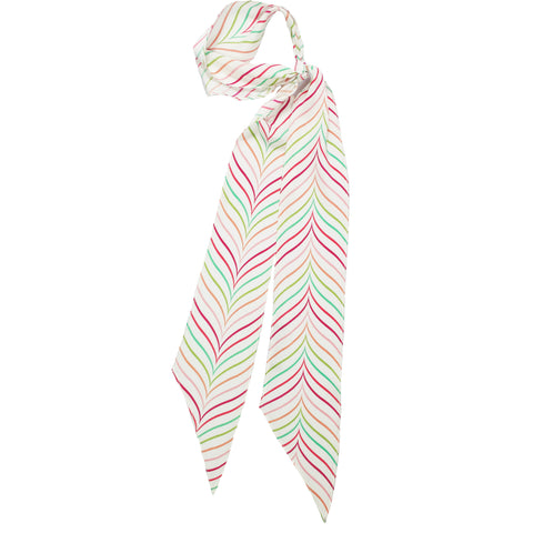 Bakewell Super Skinny Scarf Ivory