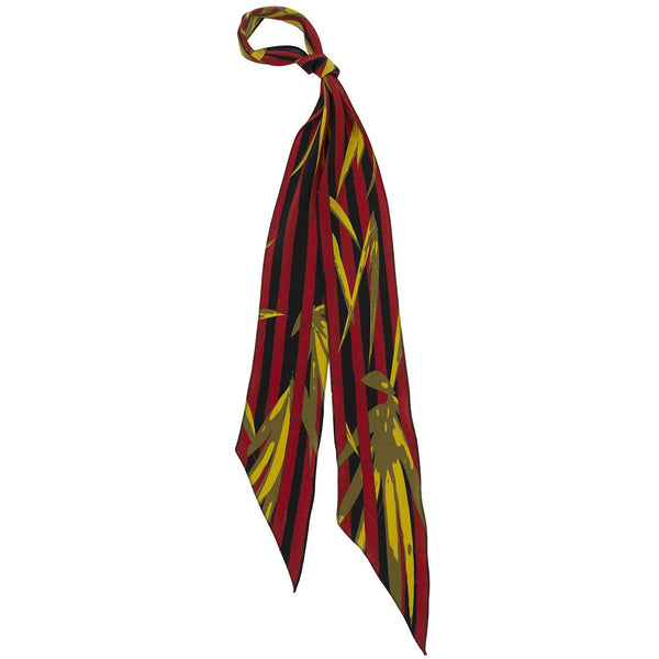 Bamboo Super Skinny Scarf Red