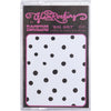 Big Dot Super Skinny Scarf Black