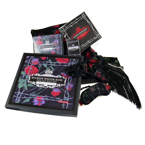 Deluxe Winter Rose Black Boxset