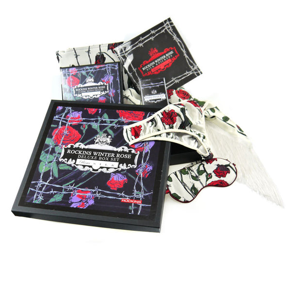 Deluxe Winter Rose Ivory Boxset