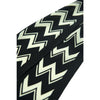 Chevron Super Skinny Scarf Black