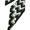 Chevron Super Skinny Scarf Black NEW!