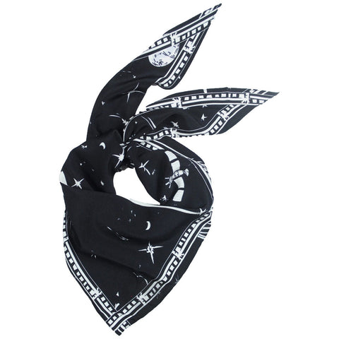 Cosmic Dancer Neckerchief Black
