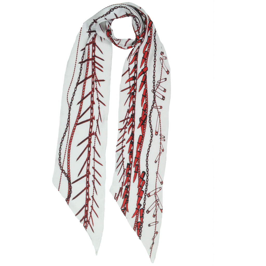 Rock Doctor Classic Skinny Scarf Ivory