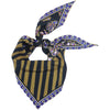 Ice Cream Paisley Neckerchief Black