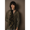 Rockins Classic Skinny Scarf Black and Gold