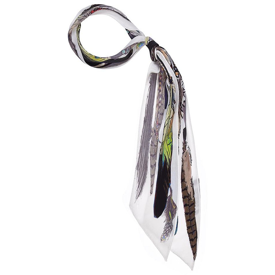 Feathers Super Skinny Scarf