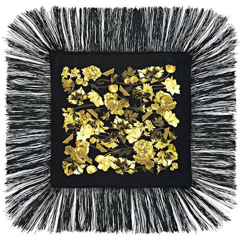 Flora Mini Throw Gold