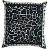 Giraffe Cushion Black